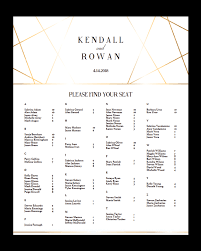 Seating Chart Template Wedding Clipart Images Gallery For