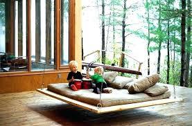 outdoor hanging bed plans hanging bed swing amazing outdoor daybed swing plans hanging porch bed swings