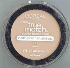 l oreal true match pact makeup light ivory w2