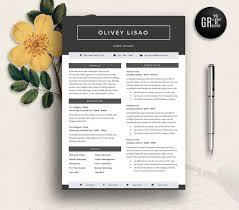 Resume Template Cv Template 10 Resume Templates Creative