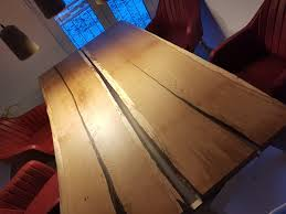 Esstisch Mit Epoxidharz Highlight Bwn Möbelbau Möbel Nach Maß