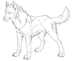 Free Printable Wolf Coloring Pages For Adults Anime Wolves Colo