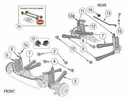 wrangler tj suspension parts years  jeep wrangler tj suspension parts exploded view diagram years 1997 2006