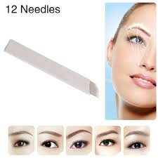 Slavné Značky Chuse S12 Permanentní Make Up Jehly Obočí Microblading