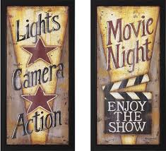 home theater art. modern design home theater wall decor amazing ideas movie night decorating art