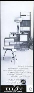 1953 arthur umanoff wrought iron tall boy tony paul chair photo elton vine ad