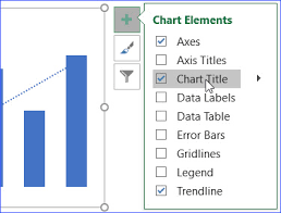 Insert Chart Title Excel How To Add A Chart Title Excelnotes