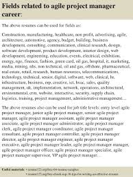 Top 40 Agile Project Manager Resume Samples Magnificent Project Manager Resume Examples