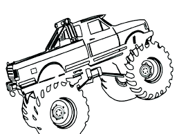 Monster Truck Printable Coloring Pages Monster Truck Printable