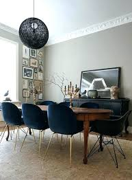 teal upholstered dining chairs astounding oval tables for your modern room shaker decoration ideas birthday full