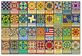 Quilt Square Patterns Adorable 48 State Quilt Block Patterns Fairfield World Blog