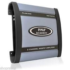 car amplifiers the truth pyle academy 2 ch two channel 1000w blue bridgeable car speaker amplifier amp