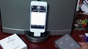bose docking station. sounddock bose \u0026 ipod touch 5g with lightning to 30 pin adapter playing charging perfectly!! - youtube bose docking station