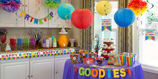 rainbow birthday party supplies party city canada