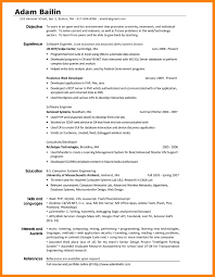 4+ interests section on resume