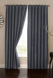 absolute zero velvet blackout home theater curtain panel 95 inch stone blue co uk kitchen home