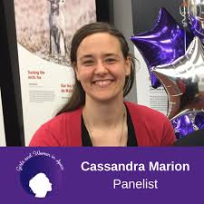 """Institute for Earth and Space Exploration on Twitter: """"The third panelist  for #GirlsandWomeninSpace Night is Dr. Cassandra Marion. 🚀🛰😃 Dr. Cassandra  Marion is the Science Advisor at the Canada Aviation and Space"""