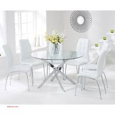glass table and 4 chairs lovely modern round glass dining table with 4 white chairs