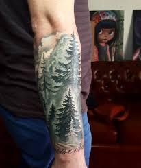 татуировка ели эскизы значение фото идеи женских и мужских вариантов
