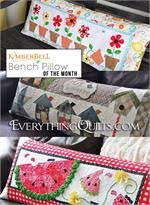 Pre-cut Quilt Kits at Everything Quilts & Kimberbell Bench Pillow Quilt Kit - Includes 12 Pillow Kits with Pre-cut &  Pre Adamdwight.com