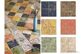 antique looking bathroom tiles kitchen vintage tile style reion floor flooring ideas