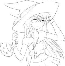 Manga Coloring Sheets Anime Wolf Girl Coloring Pages Anime Coloring