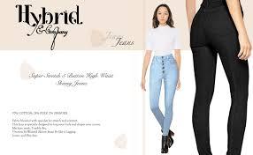 HyBrid & Company Womens Super <b>Stretch</b> Comfort <b>High Waist</b> High ...