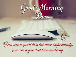 Good Morning Boss Quotes