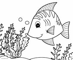 Tropical Fish Coloring Page Coloring Pages