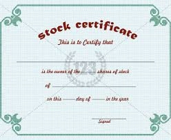 21+ Stock Certificate Templates - Free Sample, Example Format ...