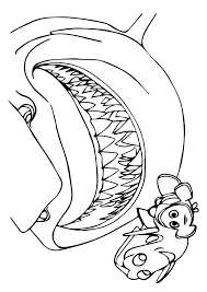 Finding Nemo Coloring Pages Printable Coloringstar
