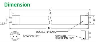 magnetic ballast wiring diagram images years warranty ce tuv epistar smd3528 10w 18w 25w t8 osram led tube
