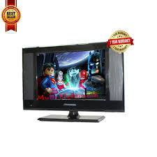 tv 15 inch. led tv 15 inch polysonic a858i - hitam(black) tv