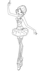 Free Barbie Ballerina Coloring Pages Free Printable Ballerina