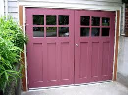 swing out garage doorsHinged Swinging SwingOut or Swing Real Carriage House Garage
