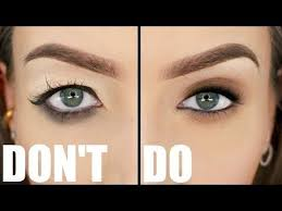 a makeup tutorial on the things you want to avoid with downturned droopy hooded eyes and some tips and tricks do s and don ts f