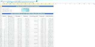 Loan Payoff Schedule Calculator Mortgage Calculator Template