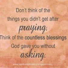 Christian Thankful Quotes Best Of Except God Gave Me Everything I Prayed For Down To The Detail And I