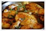 40 clove garlic chicken wings