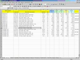 concrete cost estimating excel construction office online generlcostworksheet