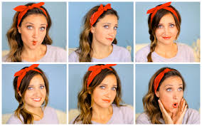 5 Minute Hairstyles For Girls Six Diy 1 Minute Bandana Hairstyles Cute Girls Hairstyles