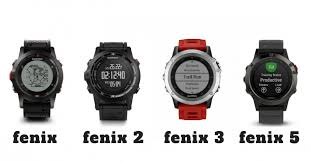 Garmin Wearable Comparison Chart Comparing Garmins Fenix Series Fenix 2 3 5 5s And 5x