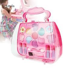 Bộ đồ chơi dụng cụ trang điểm mỹ phẩm bằng nhựa dành cho bé gái