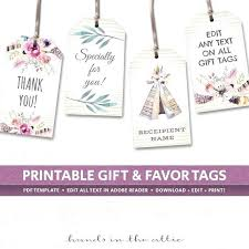 Birthday Tags Template Wedding Favor Tags Template Free On Incredible Ideas And Image