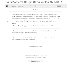 Digital Systems Design Using Verilog Solution Solved Digital Systems Design Using Verilog 1st Edition