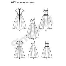 1950s Dress Patterns Gorgeous Simplicity Pattern 48 Womens 48s Dress And Redingote New