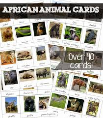 Free Printable Welcome Cards Free Printable African Animal Cards Welcome To Mommyhood