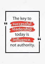 Motivate Leadership Leadership Motivate Quote Poster Design Stock Vector Aleksorel