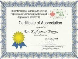 Performance Certificate Sample Certificates Latest Certificates Templates Sample Free
