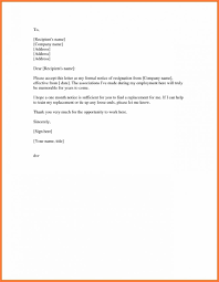 Resign Template Simple Resignation Letter Effective Immediately Filename Example Of